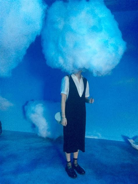cloud in a room collins s room at refinery29 artnet news