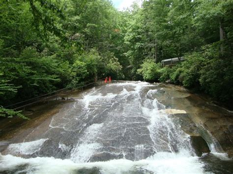 Sliding Rock Nc Cabins by Sliding Rock Another View From The Bottom Picture Of