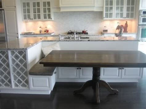 Kitchen Island With Bench Seating Kitchen Island With Bench Seating For The Home