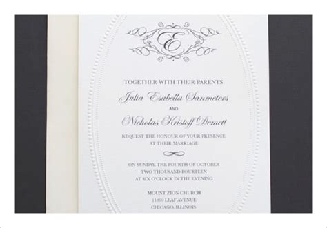 free online printable wedding invitations wblqual com