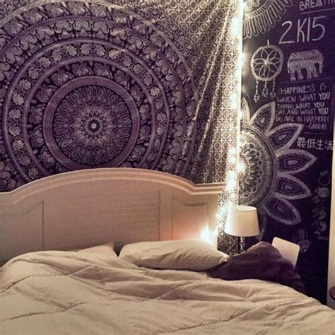 Elephant Room Decor Elephant Wall Hanging Wall Decoration Mandala Tapestry Hippie Throws Blanket