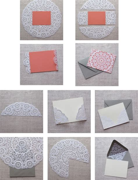 How To Make Paper Doily Envelopes - 897 best images about writing letters on snail