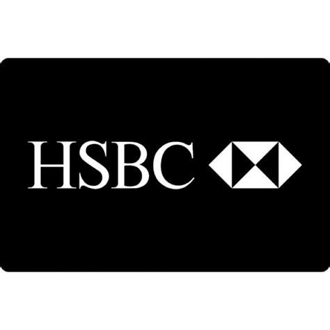 HSBC paying card logo Icons   Free Download