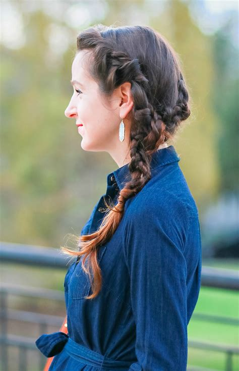 easy side braid with a twist by hair cuttery diary of a