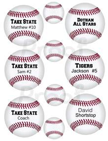 3 inch printable baseball tags or labels i ll by