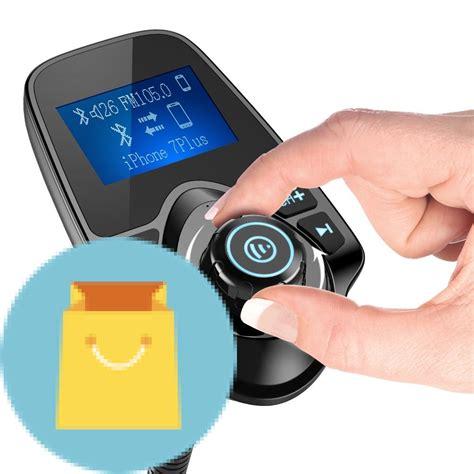 Auto Bluetooth by Nulaxy Wireless In Car Bluetooth Fm Transmitter Best Offer