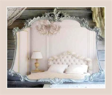 Shabby Chic Interior 4394 by Antique Mirror Mimicking An Corset Take