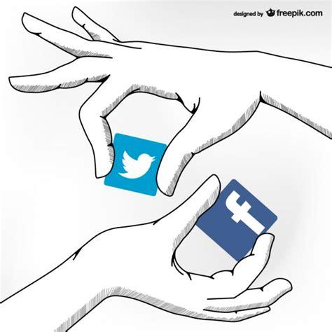 imagenes de personas en redes sociales dibujos de redes sociales descargar vectores gratis