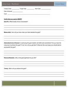 smart goals template 48 smart goals templates exles worksheets template lab