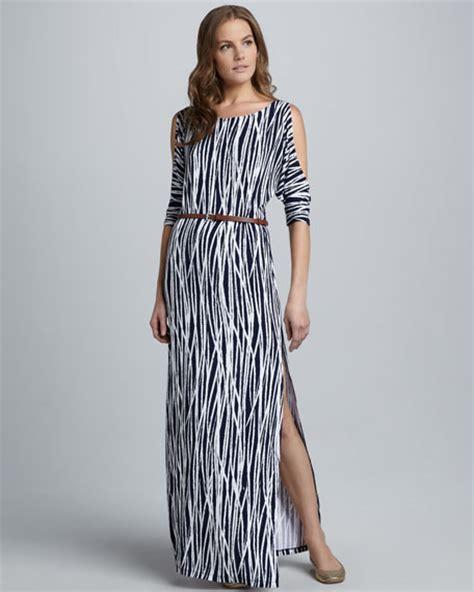 tart delia striped maxi dress