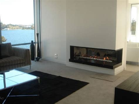 modern design idea for two sided corner fireplace living attractive modern fireplaces designs interior design