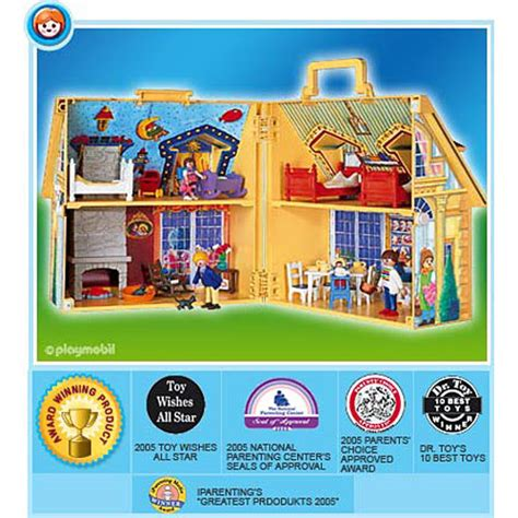 playmobil take along dolls house playmobil 5763 my take along doll house tutoring toy