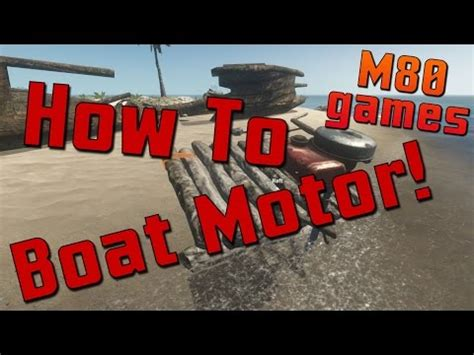 how to build a boat motor in stranded deep how to build a boat motor stranded deep youtube