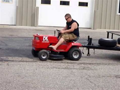 bk boat sleds tractor pull pop wheelies trailer towing - Tow Boat With Lawn Tractor