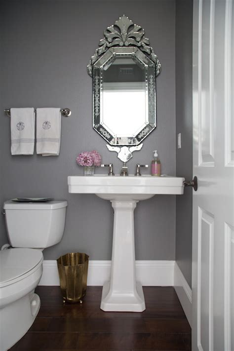 gray powder room ideas gray powder rooms transitional bathroom benjamin