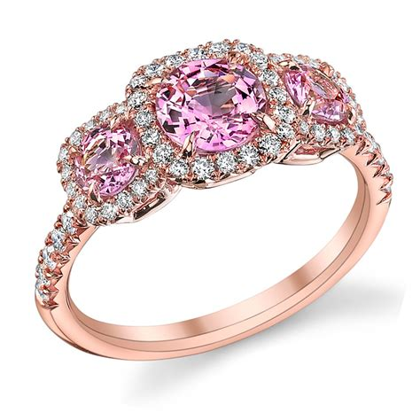 pink ring pink engagement rings simply the best when one