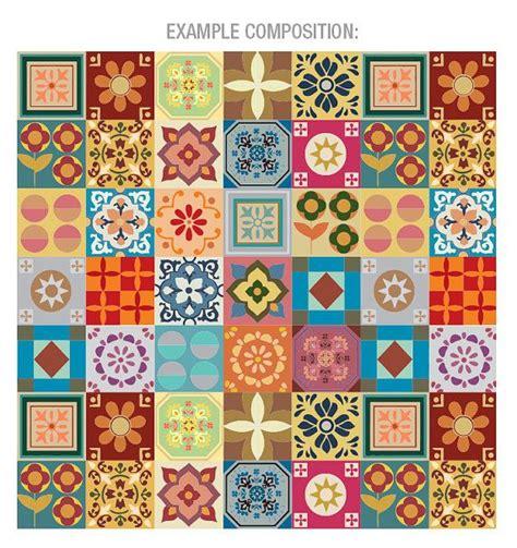 stickers carrelage patchwork stickers de tuiles par