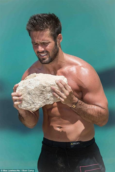 Detox Shirtless All by Spencer Matthews Shows His Ripped Torso And Biceps In
