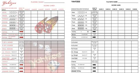 printable painted yahtzee score sheets custom yahtzee score sheet 1 by gameshalo70 on deviantart