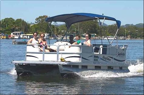 pontoon boats for sale noosa image detail for pontoon boats from kingfisher boat hire