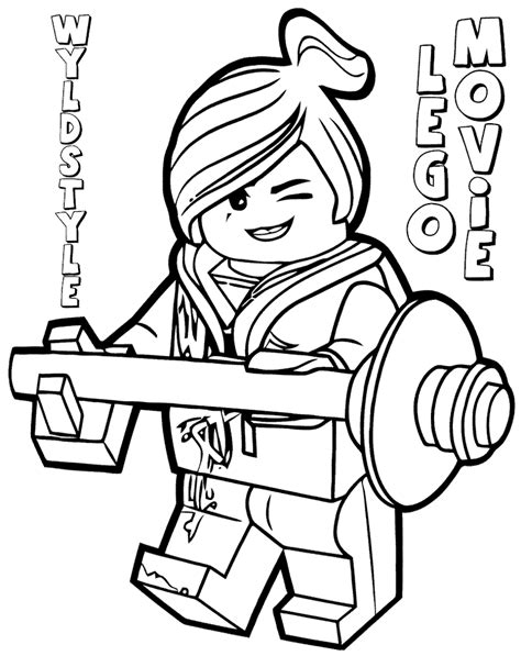 emmet lego coloring page lego movie emmet colouring sheet to print