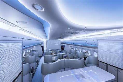 a350 cabin a350 xwb passagierkabine entry if world design guide