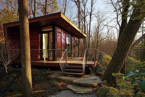 house plans for the woods a modern studio retreat in the woods workshop apd small house bliss