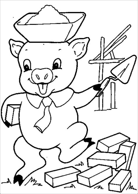 little pig coloring page kids color pages hundreds of coloring pages to print and