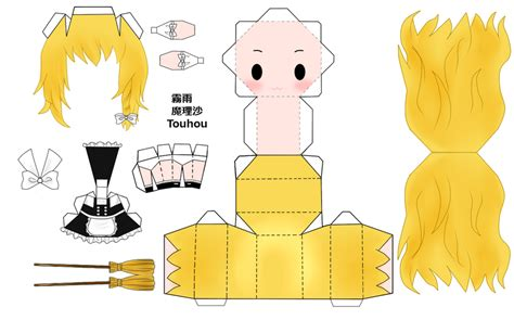 Touhou Papercraft - touhou papercraft 28 images margatroid papercraft by