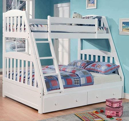 full size bunk beds for kids deluxe modern twin over twin size kids metal bunk bed with ladder bed mattress sale