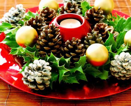 sti per candele fai da te decorazioni natalizie tavola centro tavola 57669