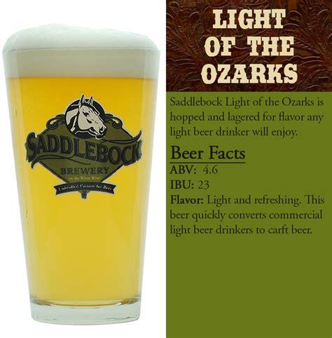 lights of the ozarks 2017 northwest arkansas brewery saddlebock brewery saddlebock