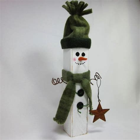 snowman home decor wooden snowman shabby home decor crafts to make pinterest