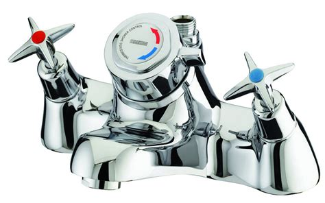 bristan thermostatic bath shower mixer bristan value cross top thermostatic bath shower mixer tap