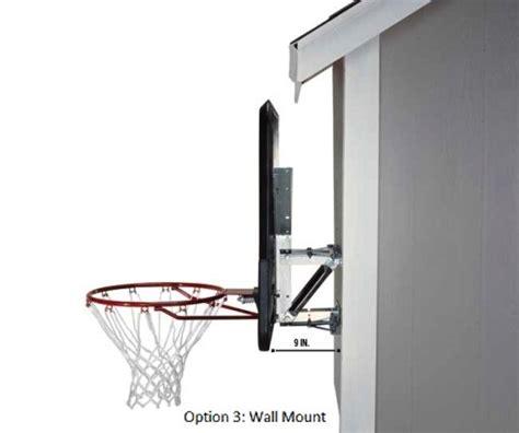 Basketball Backboard Garage Mount by Lifetime Basketball Backboard Mounting Bracket Kit 9594