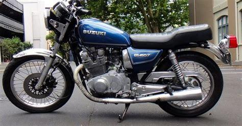 1982 Suzuki Gs450t Bikes Blue And Bikes On