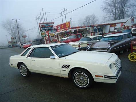 dodge jackson michigan 1980 dodge mirada clean in jackson mi marshall motors