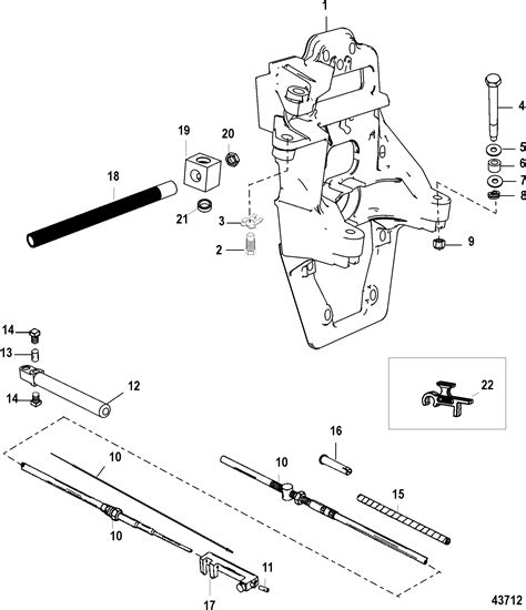mercruiser alpha one outdrive parts diagram transom plate and shift cable for mercruiser alpha one