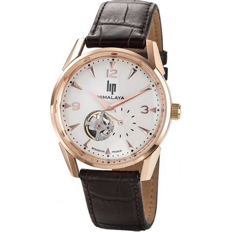 montre lip himalaya 1954 671254 montre ronde or homme sur bijourama montre homme pas