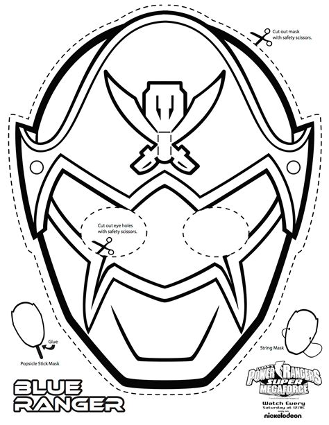 power rangers mask coloring pages morph into action with power rangers super megaforce