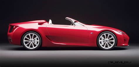 lexus lfa convertible concept to reality part two 2007 lexus lf a roadster
