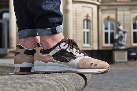 Brown Stussy Woei asics gel lyte iii x woei cervidae by sweetsoles
