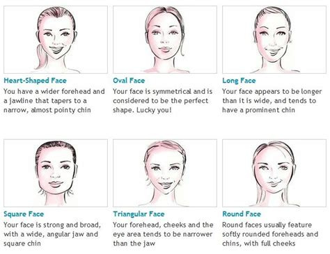 match face shape to hair styles how to shape eyebrows according to face shape