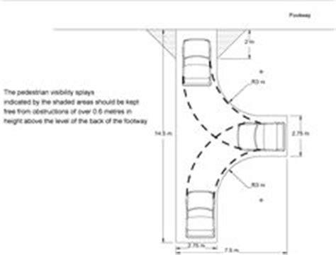 Typical Garage Size Car Minimum Turning Radius Dimensions Pinterest