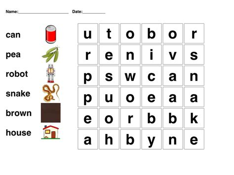 easy crossword puzzles for kindergarten simple word search for preschool kiddo shelter