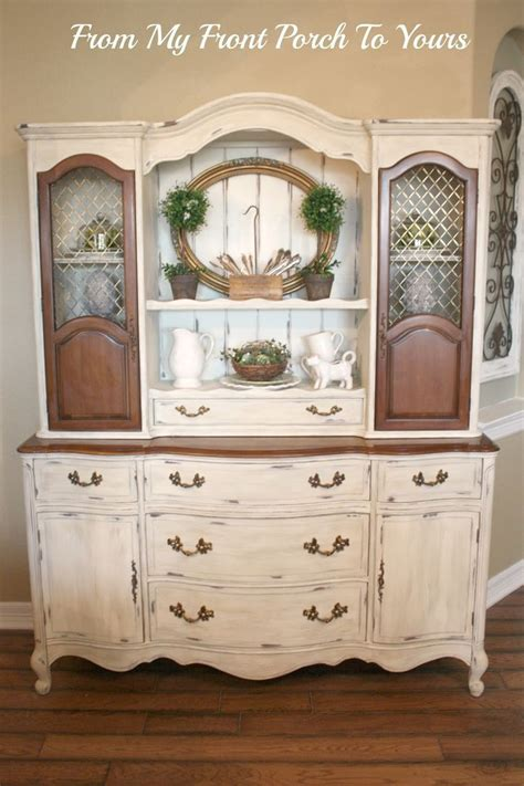 french country china cabinet french country hutch reveal tv hutch hutch ideas and