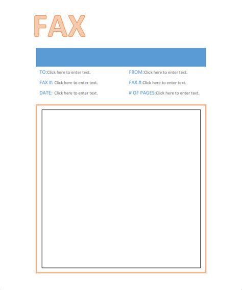 printable professional fax cover sheet facsimile cover sheet download