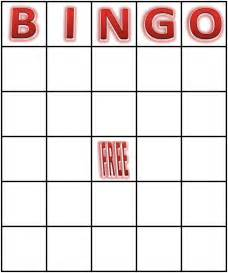 Bingo Card Template Free by Bingo Cards Printfreegames