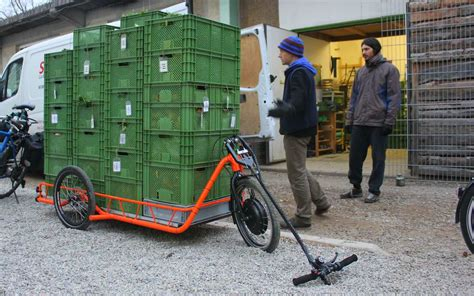 electrically powered bicycle trailer cart diy