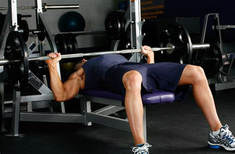 bench press muscle group start to fitness barbell bench press flat